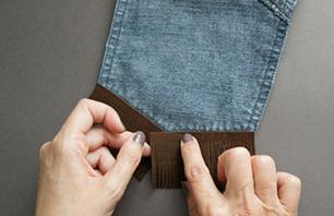 Como hacer minibolsos bohemios con viejos jeans4
