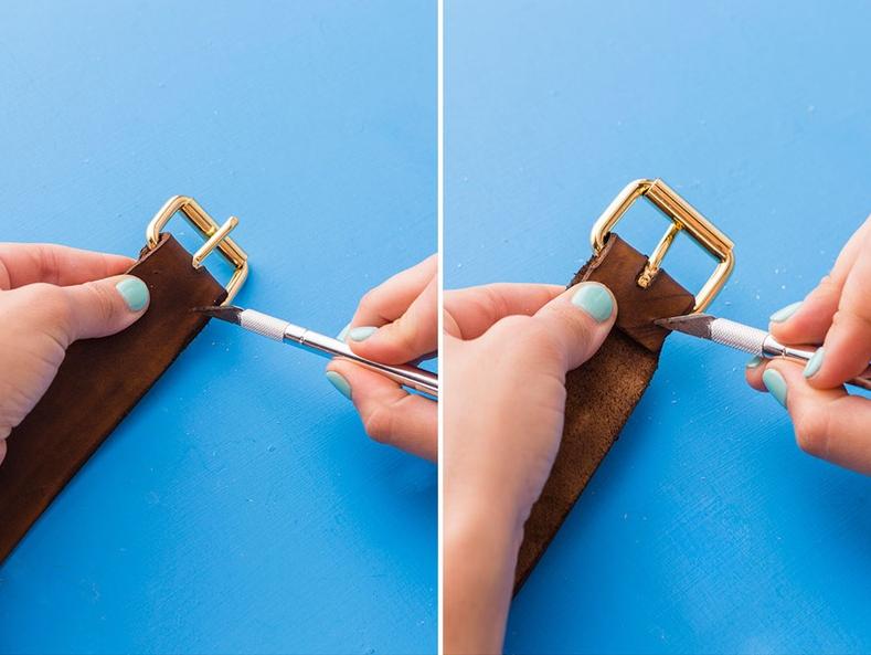 Como hacer un cinturón de cuero pasó a paso7