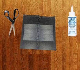 Como hacer un overol de short con unos jeans viejos pasó a paso8