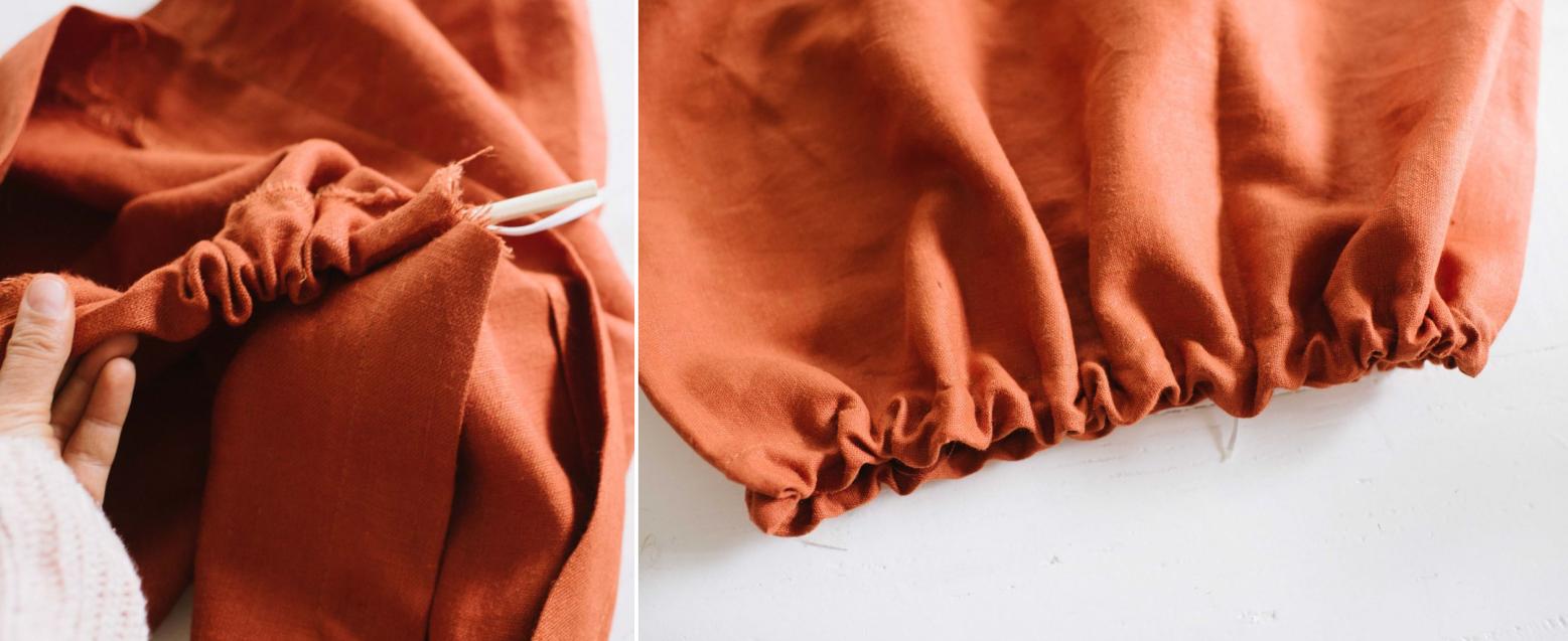 Como hacer un vestido de tiras cruzadas pasó a paso5