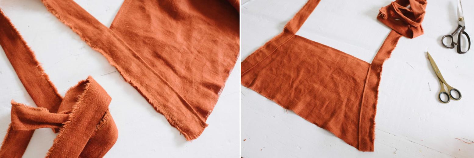 Como hacer un vestido de tiras cruzadas pasó a paso7