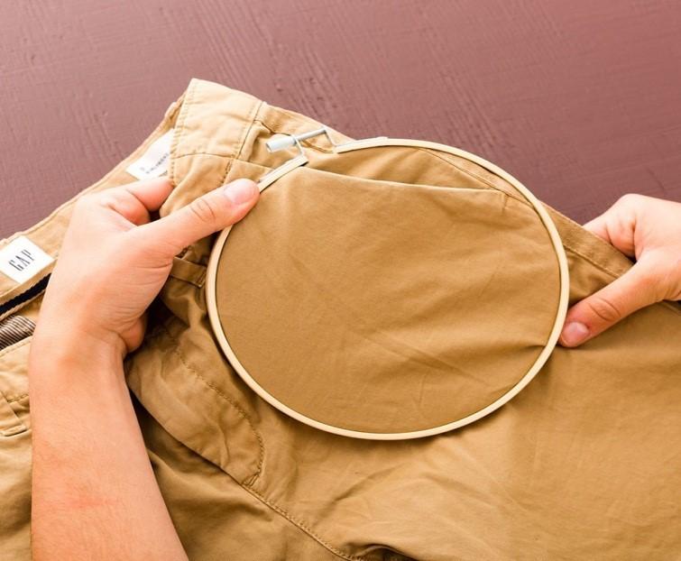 Como personalizar pantalones con bordados sencillos ¡Perfecto para principiantes!3