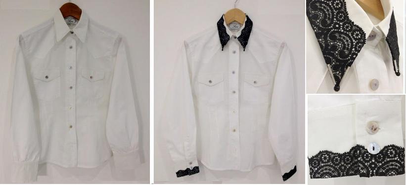 Como renovar puños y cuellos a camisas1