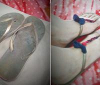 Como renovar sandalias de estar en casa para usar fuera de ella