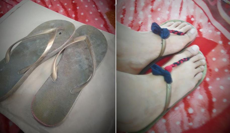 Como renovar sandalias de estar en casa para usar fuera de ella1