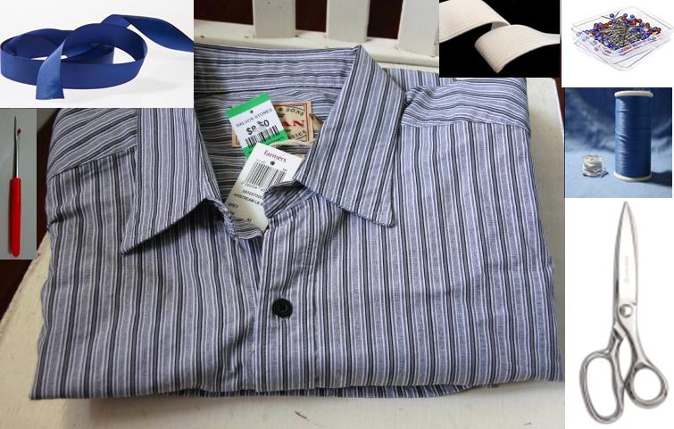 Como transformar camisas en shorts para niños 2