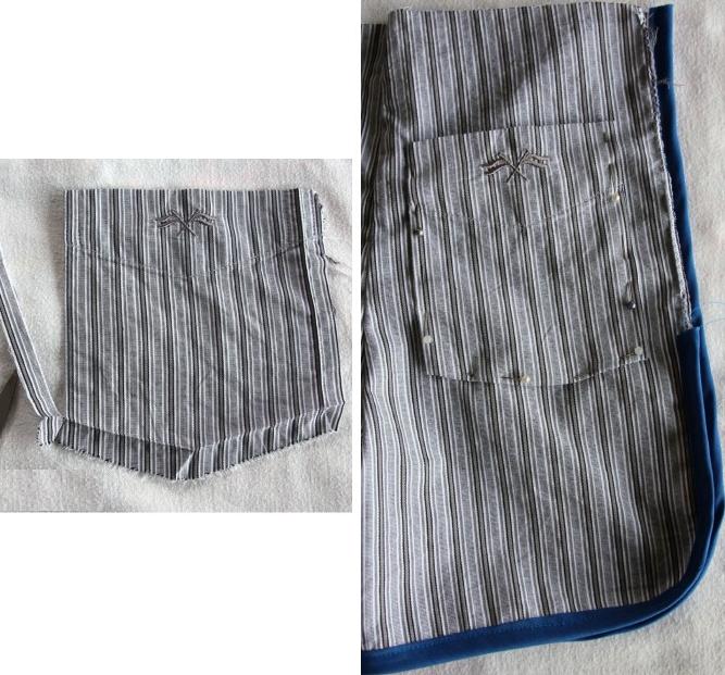 Como transformar camisas en shorts para niños 5