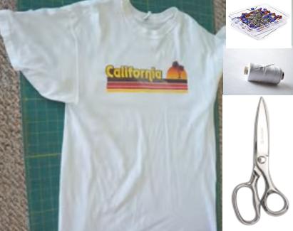 Como transformar camisetas talla grande en chaquetas mangas largas2