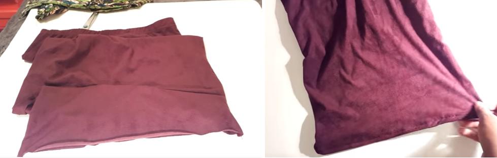 Como transformar una leggins en una falda tubo paso a paso6