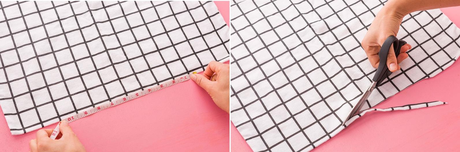 Como hacer blusas ligeras con fundas para almohadas en 3 simples pasos2