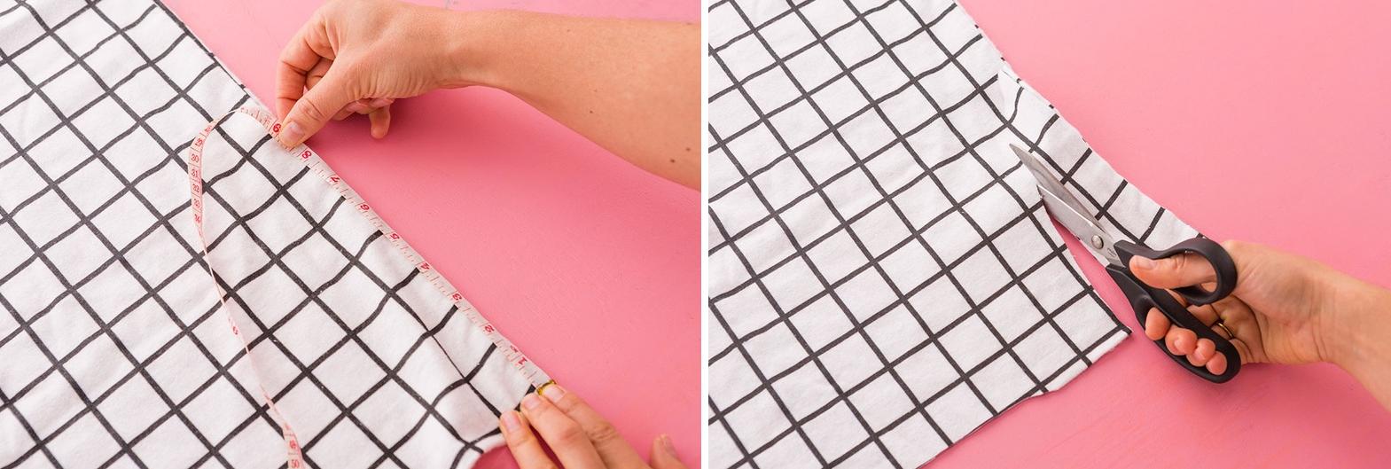 Como hacer blusas ligeras con fundas para almohadas en 3 simples pasos3