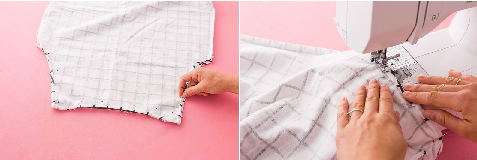 Como hacer blusas ligeras con fundas para almohadas en 3 simples pasos4