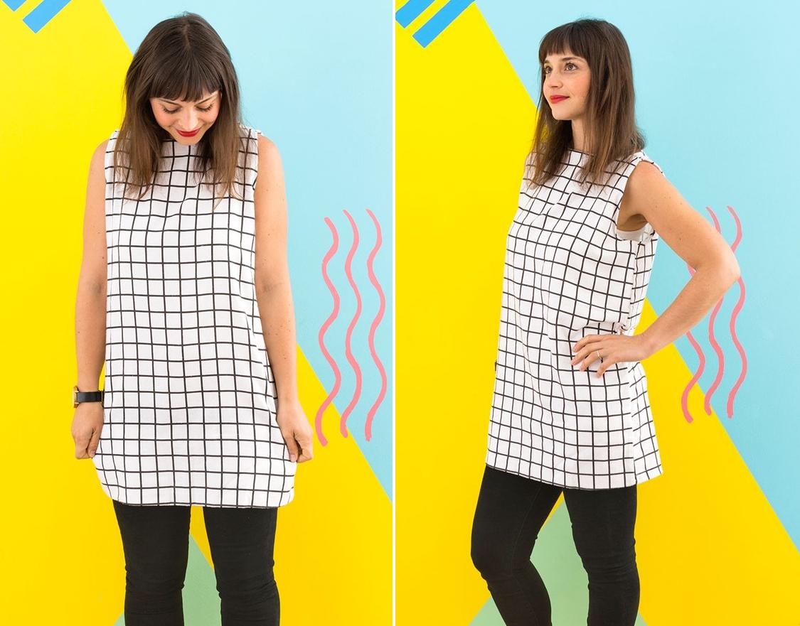 Como hacer blusas ligeras con fundas para almohadas en 3 simples pasos5