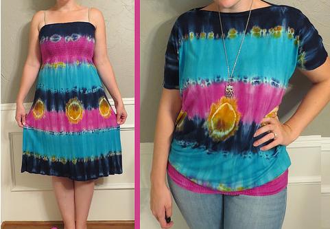 Como hacer blusas mangas bombachas con vestidos playeros en 3 simples pasos1