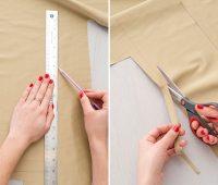 Como hacer bolsos cubo en cuero dos colores paso a paso