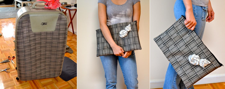 Como hacer bolsos de mano modelo sobre con viejas maletas1