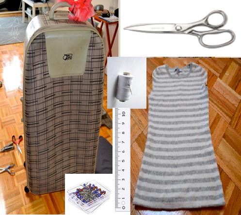 Como hacer bolsos de mano modelo sobre con viejas maletas2