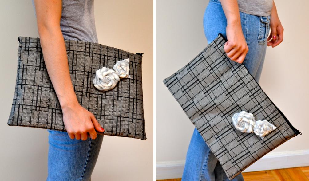 Como hacer bolsos de mano modelo sobre con viejas maletas8