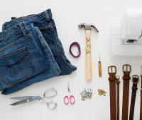 Como hacer bolsos extra grandes con jeans reciclados pasó a paso