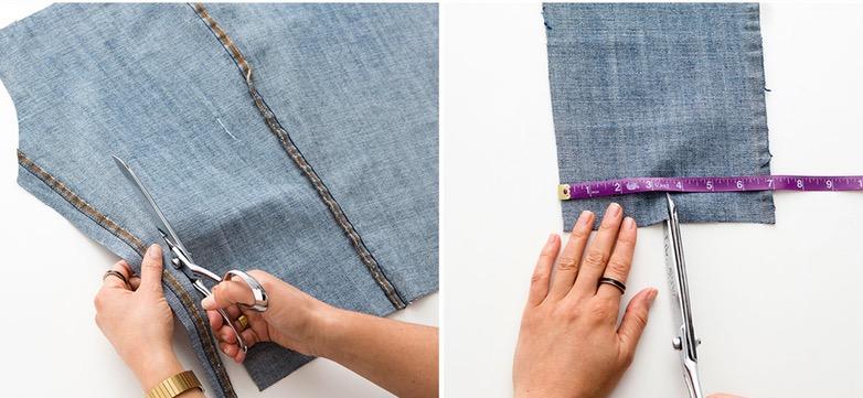 Como hacer bolsos extra grandes con jeans reciclados pasó a paso6