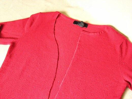 Como hacer cardigans 2 texturas con ropa reciclada3