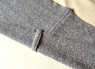 Como hacer cardigans 2 texturas con ropa reciclada5