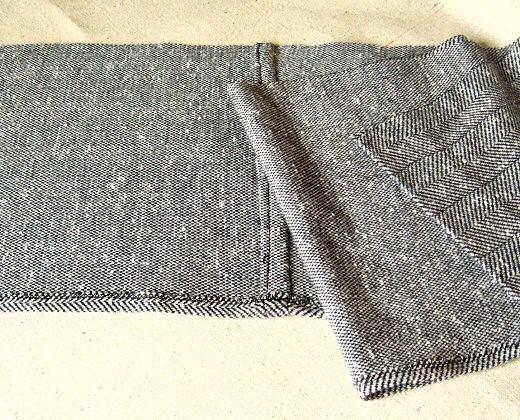 Como hacer cardigans 2 texturas con ropa reciclada6