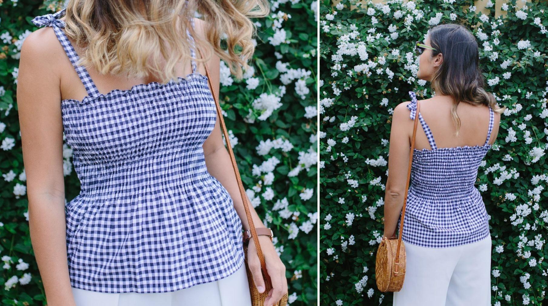 Como hacer tops o vestidos arruchados en simples pasos1