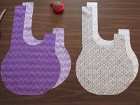 Como hacer un bolso japonés paso a paso ¡Con Moldes!3