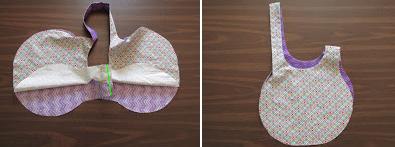 Como hacer un bolso japonés paso a paso ¡Con Moldes!7