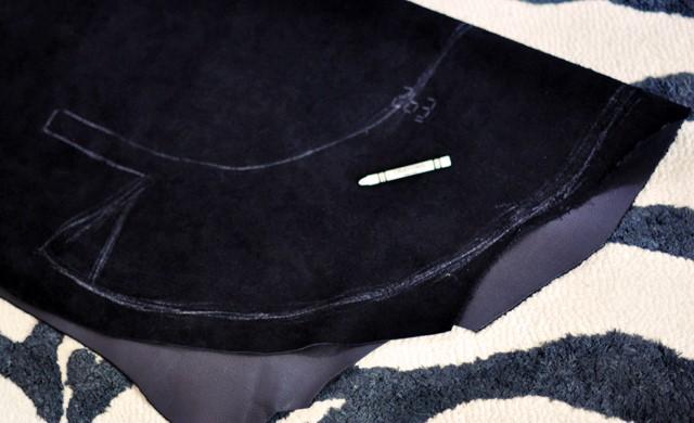 Como hacer un cinturón peplum en 3 simples pasos sin costuras2