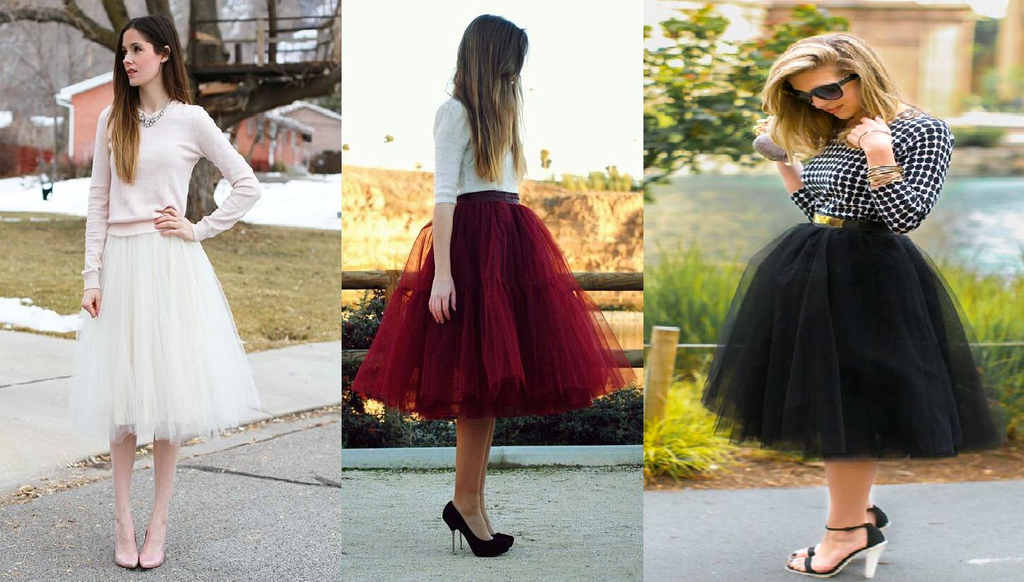 Como hacer una falda de tul ¡Sin máquina de coser!1
