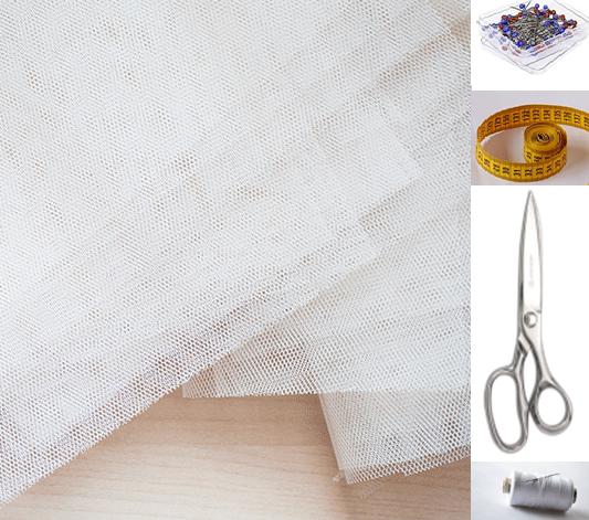 Como hacer una falda de tul ¡Sin máquina de coser!2