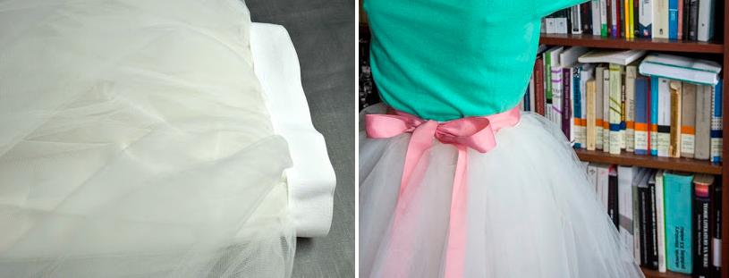 Como hacer una falda de tul ¡Sin máquina de coser!9