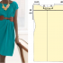 Como hacer vestidos sencillos mangas asimétrica en 3 simples pasos ¡Con patrones!