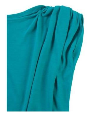 Como hacer vestidos sencillos mangas asimétrica en 3 simples pasos ¡Con patrones!5