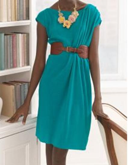 Como hacer vestidos sencillos mangas asimétrica en 3 simples pasos ¡Con patrones!6