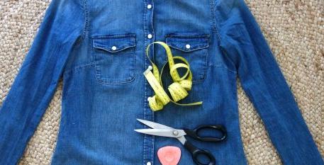 Como personalizar chaquetas de jeans con otras texturas en simples pasos2