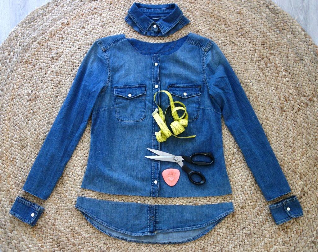 Como personalizar chaquetas de jeans con otras texturas en simples pasos3