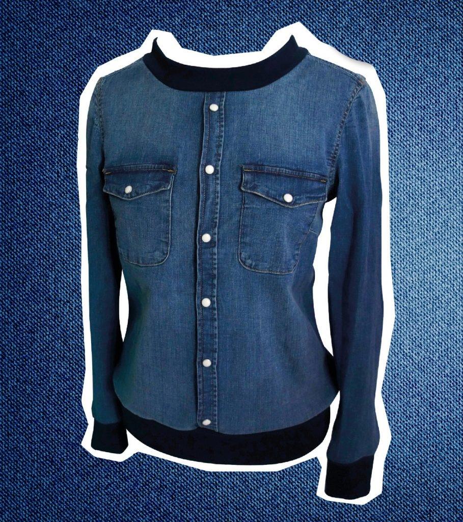 Como personalizar chaquetas de jeans con otras texturas en simples pasos7