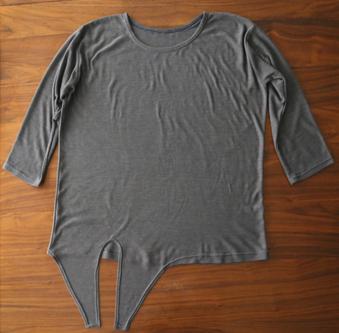 Como renovar camisetas largas con molde para enlazar6