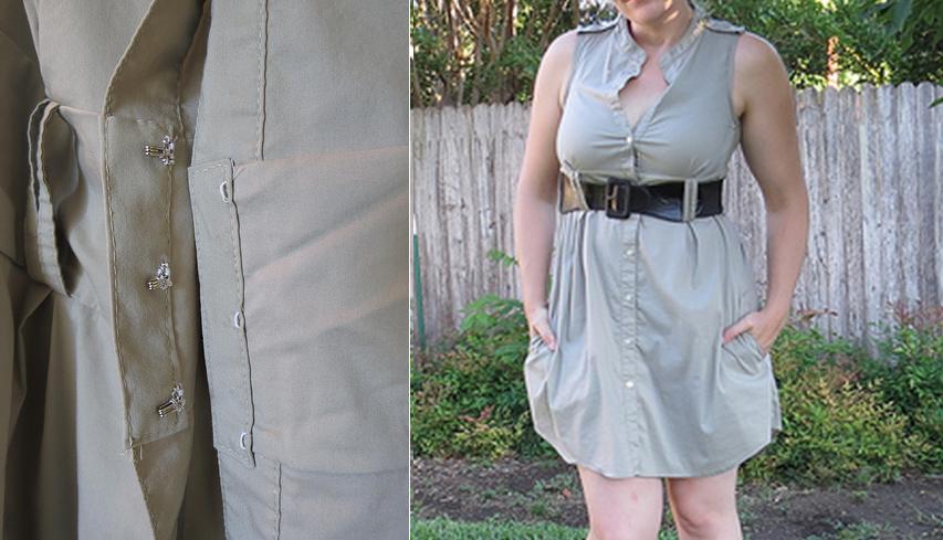 Como transformar blusones calurosos en coquetos vestidos de verano17