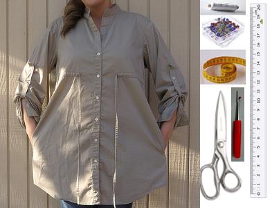 Como transformar blusones calurosos en coquetos vestidos de verano2