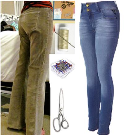 Como entubar jeans de manera perfecta en 2 simples pasos2