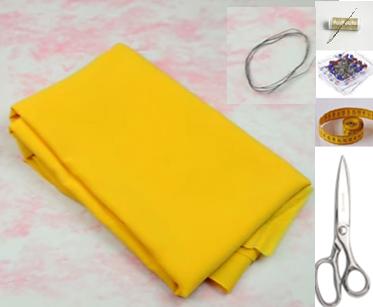 Como hacer bandanas moldeables en simples pasos ¡Perfectas para el verano!2