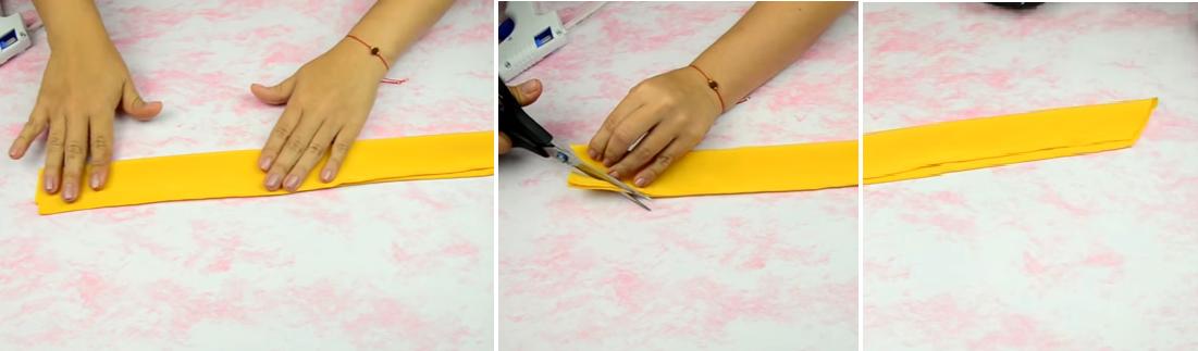 Como hacer bandanas moldeables en simples pasos ¡Perfectas para el verano!5