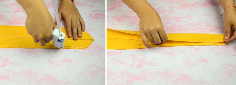 Como hacer bandanas moldeables en simples pasos ¡Perfectas para el verano!7