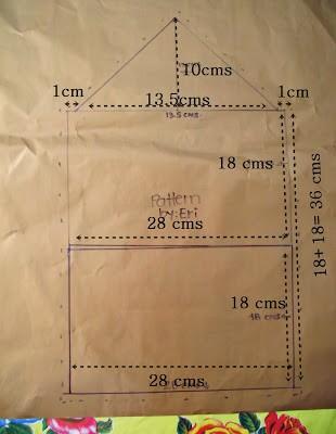 Como hacer bolsos sobre con diseños personalizados ¡Con moldes!3