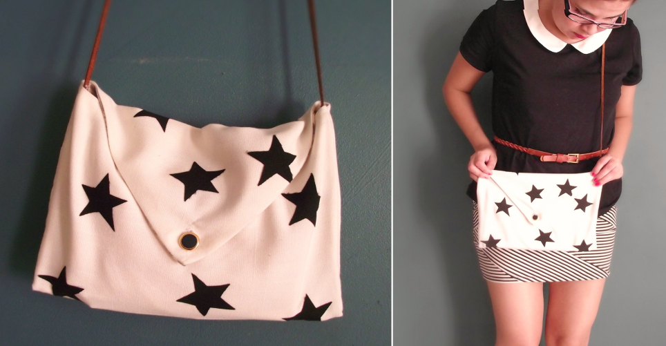 Como hacer bolsos sobre con diseños personalizados ¡Con moldes!8