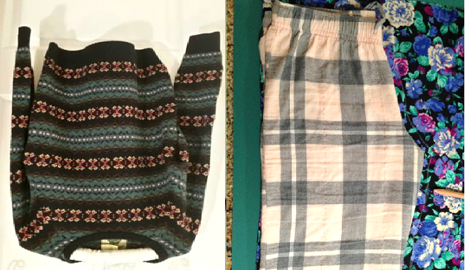 Como hacer leggins con sueters reciclados en simples pasos4